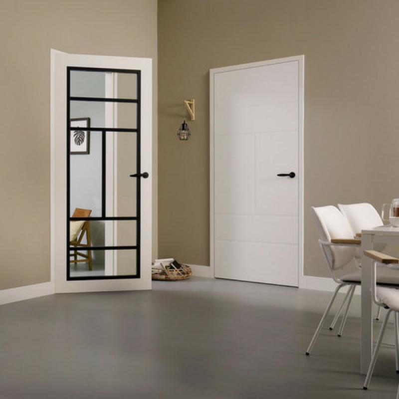 SUPERLAK BLANC  Moderne ( laque Blanc Alpin RAL 9010 ou Extra Blanc NCS-S 0300-N )